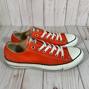 Converse All Star Low Orange Men's 8/ Women's 10